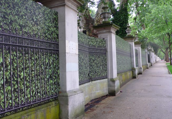Hedge, Railings and Wall Hoarding Design in London